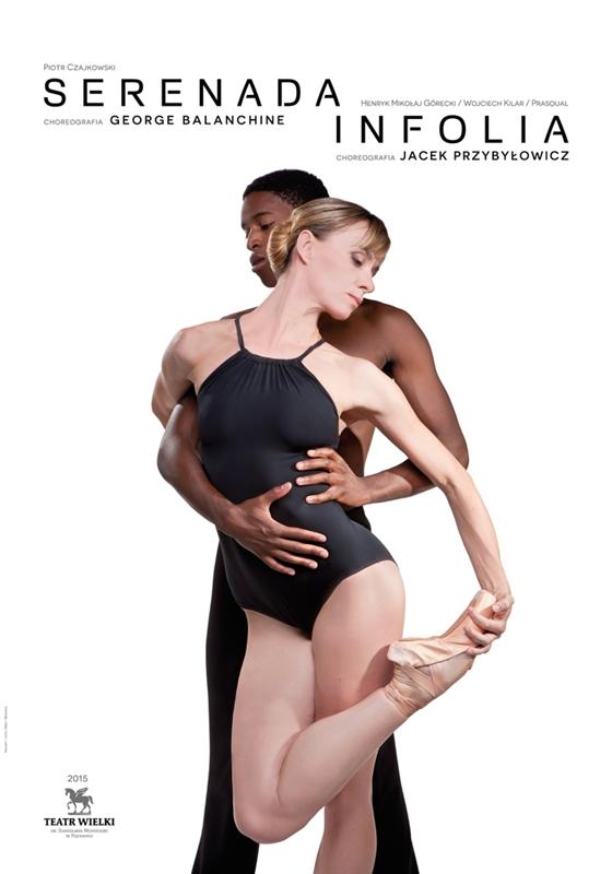 SERENADA chor. George Balanchine / INFOLIA chor. Jacek Przybyłowicz