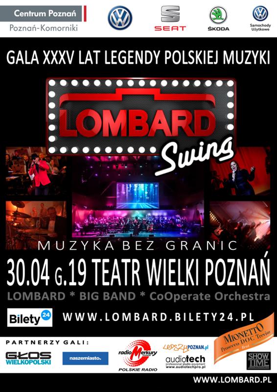 LOMBARD Swing. Muzyka bez granic