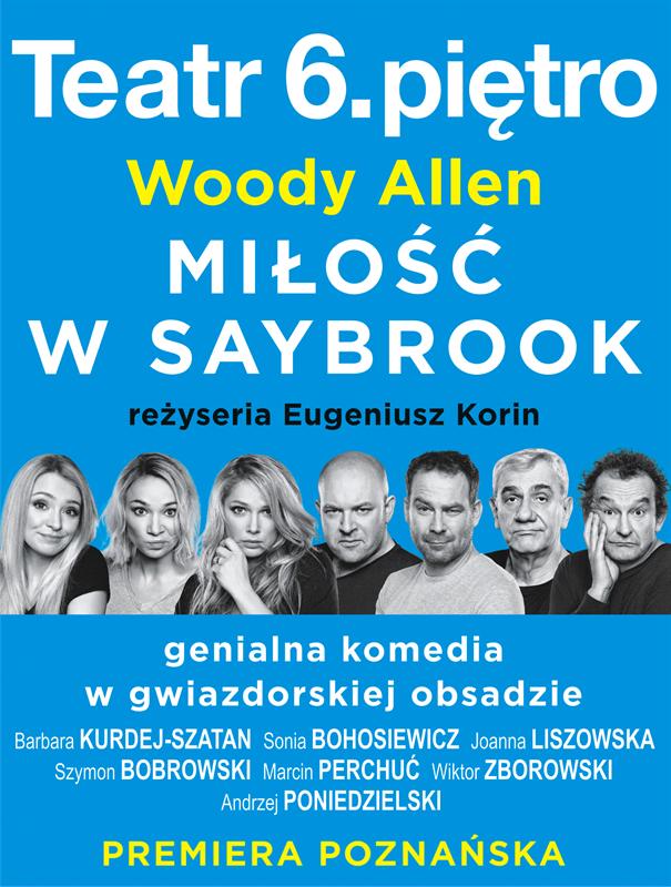 MIŁOŚĆ W SAYBROOK Woody Allen