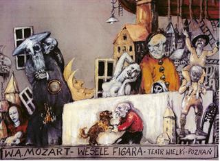 WESELE FIGARA (Le nozze di Figaro) Wolfgang Amadeusz Mozart