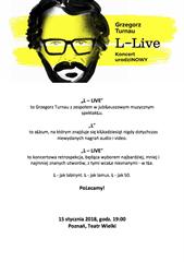 L-LIVE koncert urodziNOWY Grzegrz Turnau